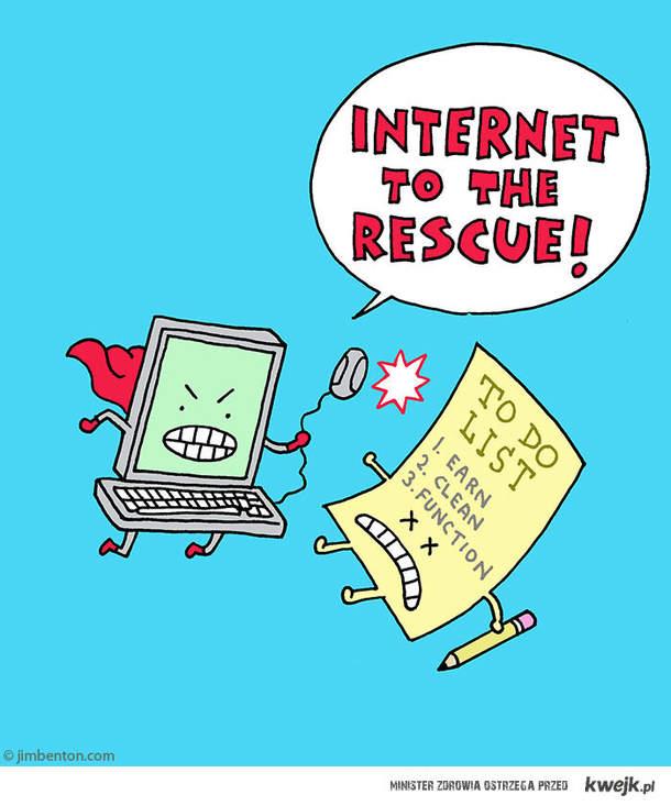 Obowiązki? Internet, pomóż!