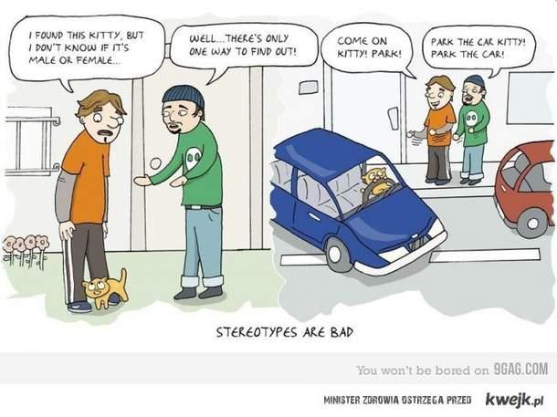 stereotypy są złe