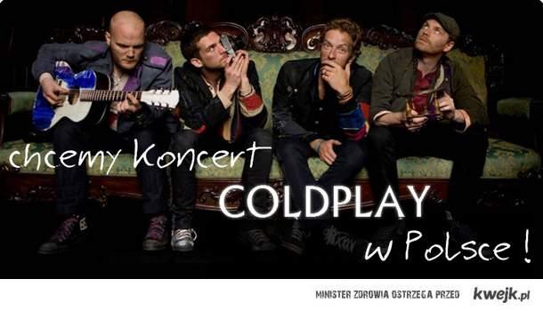 coldplay w Polsce