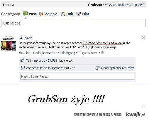 GrubSon żyje!