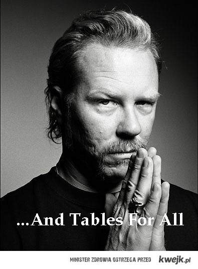 hetfield tables