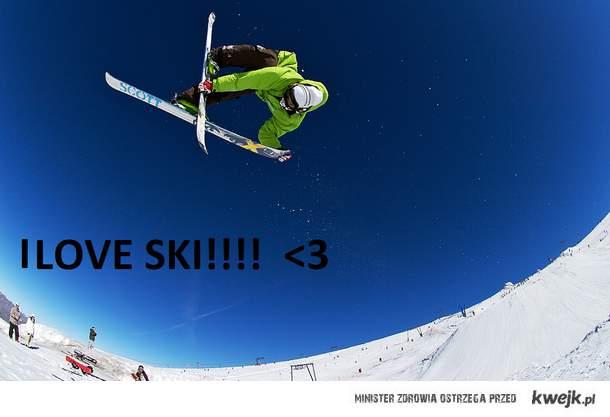 I LOVE SKI!!! <3