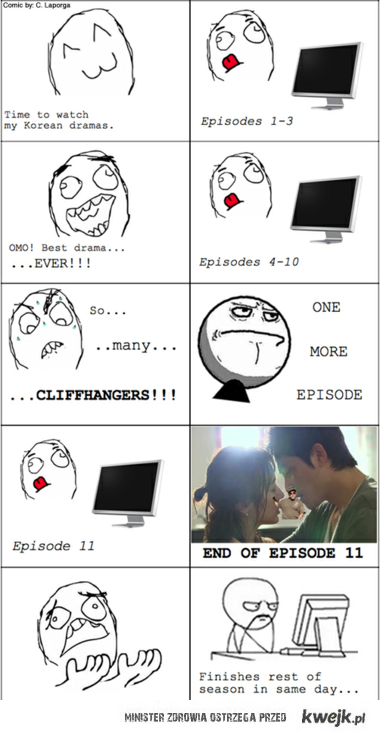 watching drama