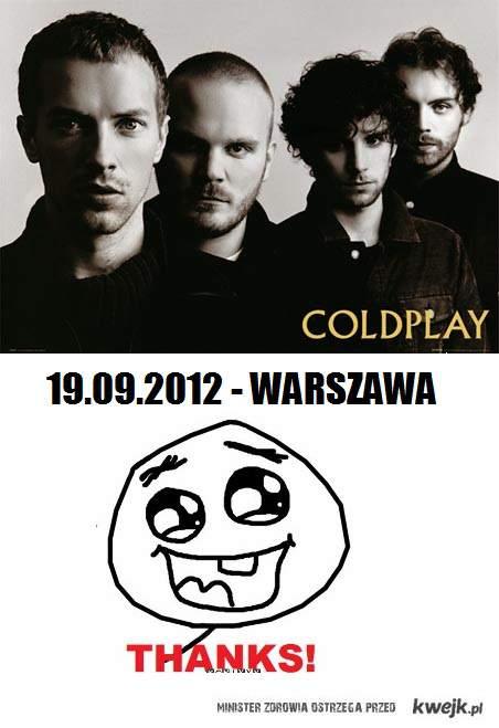 Coldplay w Polsce po raz drugi!