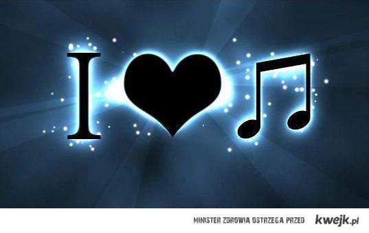 I love ... music