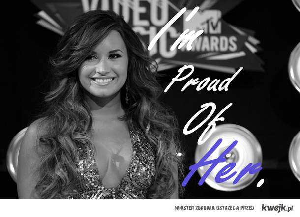 I'm proud.