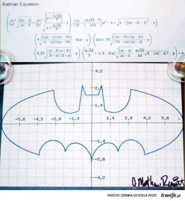 Batmanowe równanie