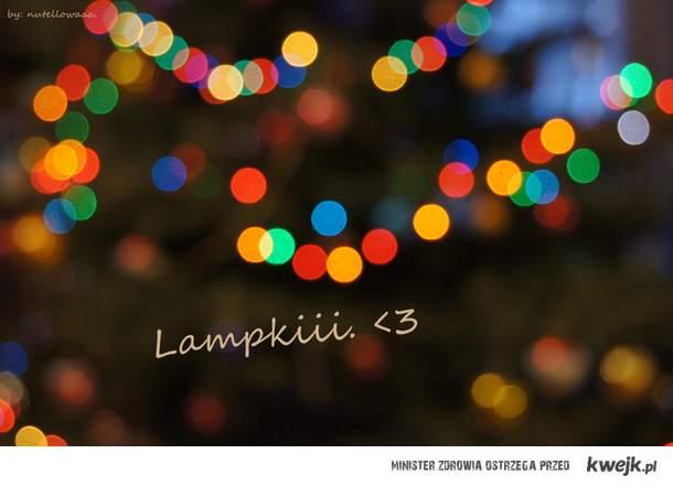 Lampki. x3