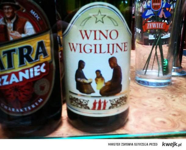 Pamiętajcie o Winie wigilijnym:)