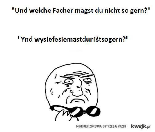 Czy Ty też rozumiesz niemiecki tak jak ja? :D