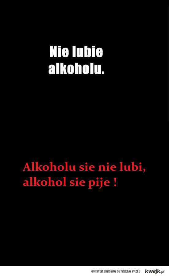alkohol odpowiedz