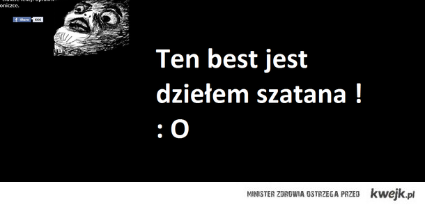 Best to szatan ! xDD