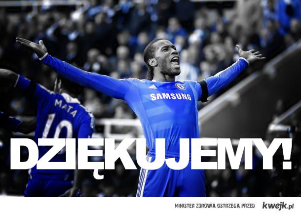 Chelsea dziękujemy!