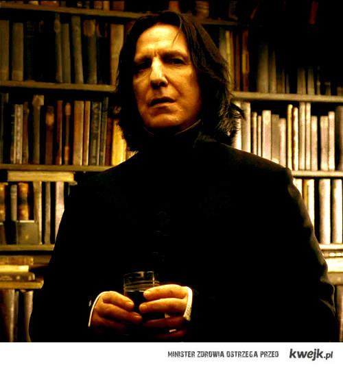 Snape- always sexy.