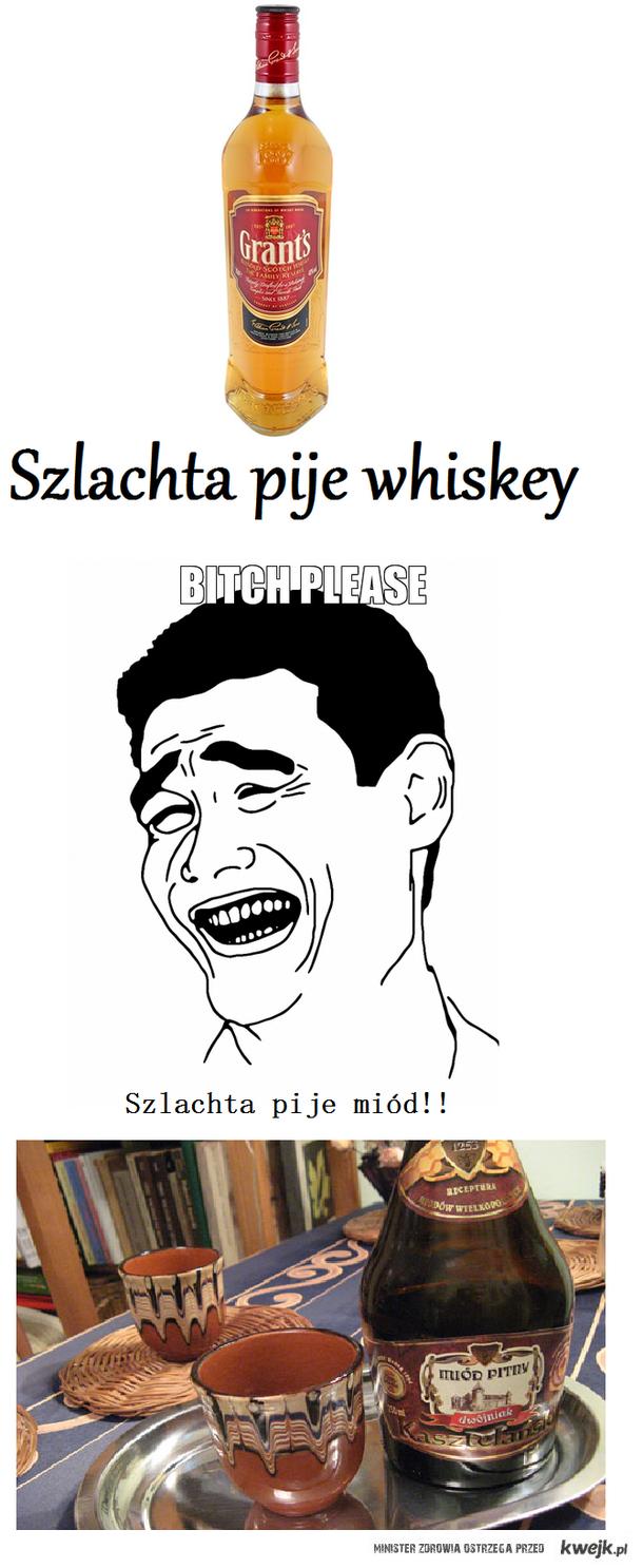 Szlachta pije