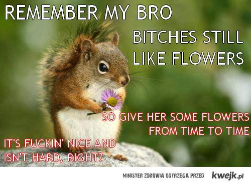 bitches still love flovers bro