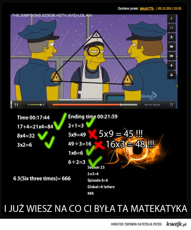 simpsons poprawka (iluminati)