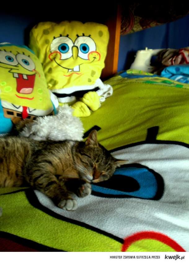 Badyl i Spongebob <3