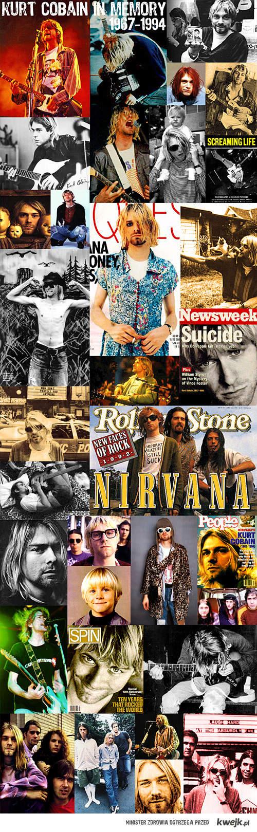 Kurt Cobain's life