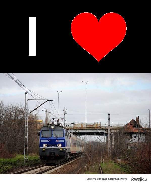 I <3 train