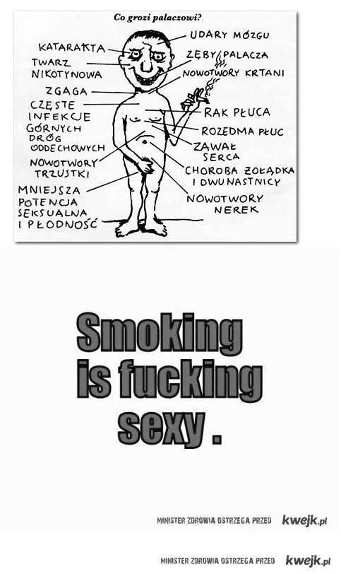 smoking is very sexy