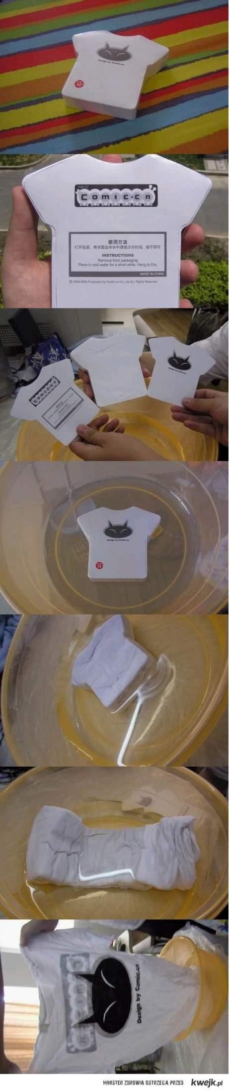 zadziwiające koszulki