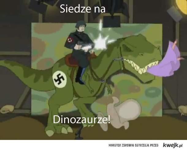 Siedz na Dinozaurze!