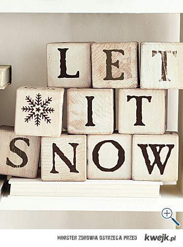 let it snow x
