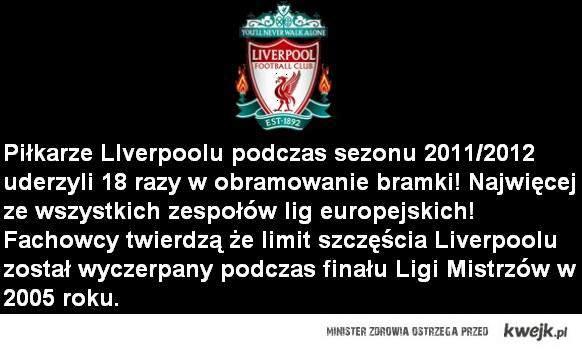 Liverpool bez szczescia