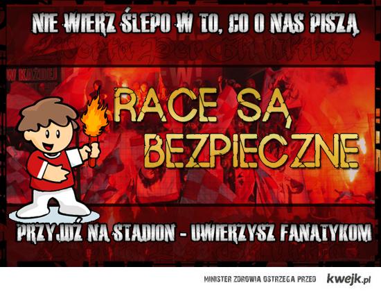 RACE SĄ BEZPIECZNE:)