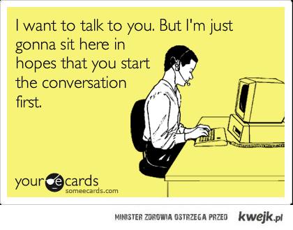Chcę pogadać