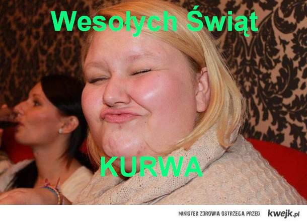 Wesołchy świąt KURWA