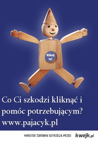 pajacyk.pl na stronę startową