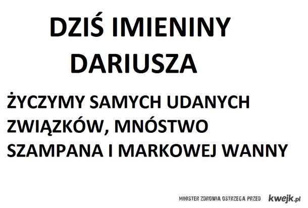 Imieniny Dariusza