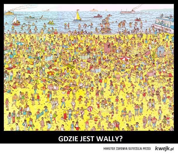Gdzie kur** jest Wally?
