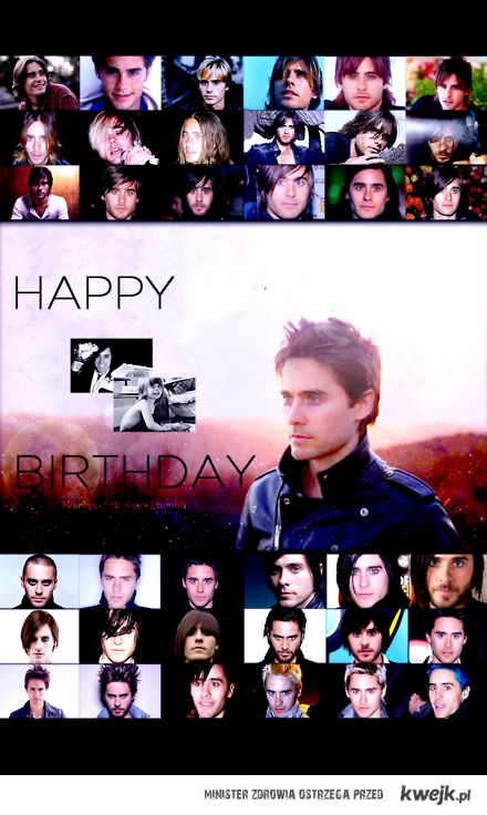 Happy Birthday Jared <3