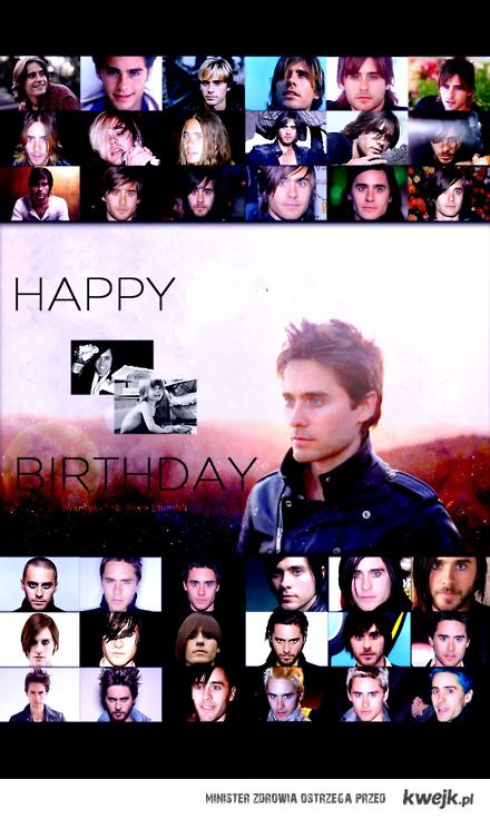 Happy Birthday Jared <3