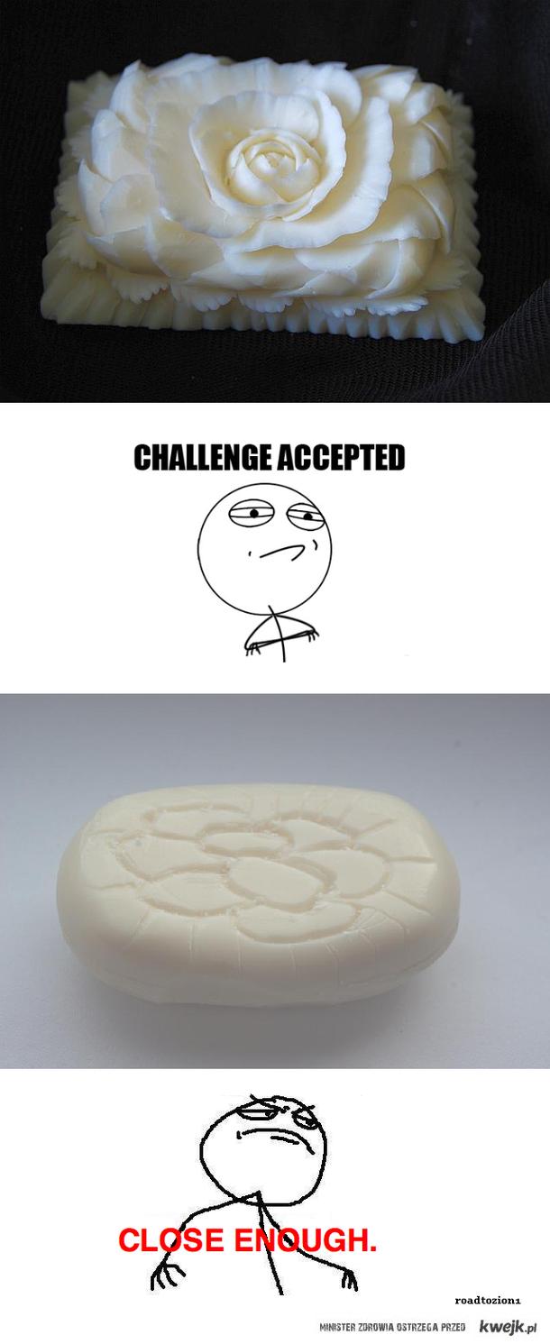 rzeźba z mydła
