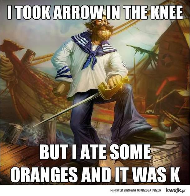 It was K