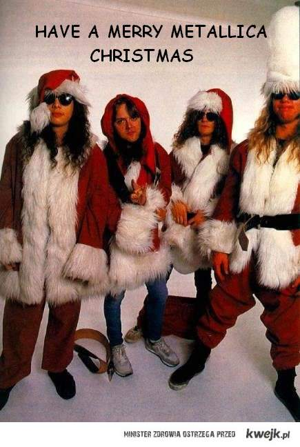 Happy Metallica Xmas