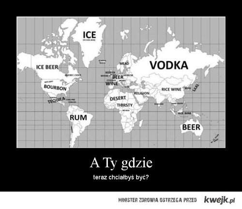 gdzie chciałbyś być?