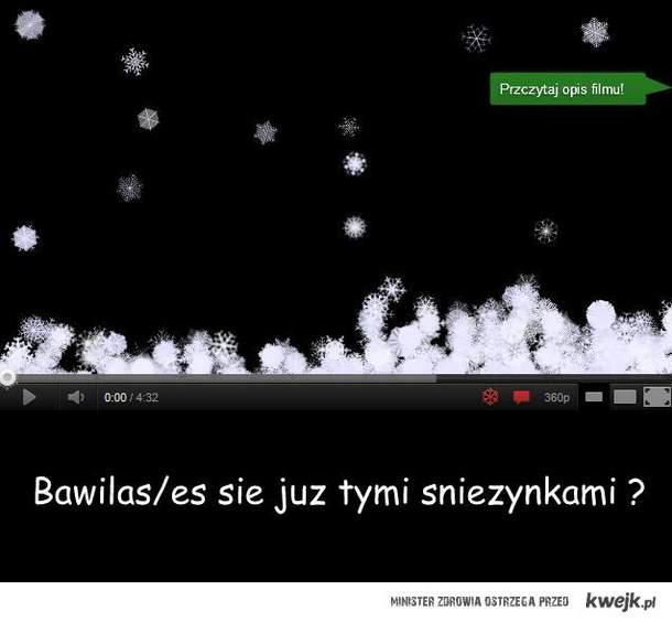 Śnieżynki <3