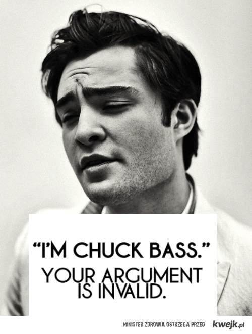 i'm chuck bass xoxo