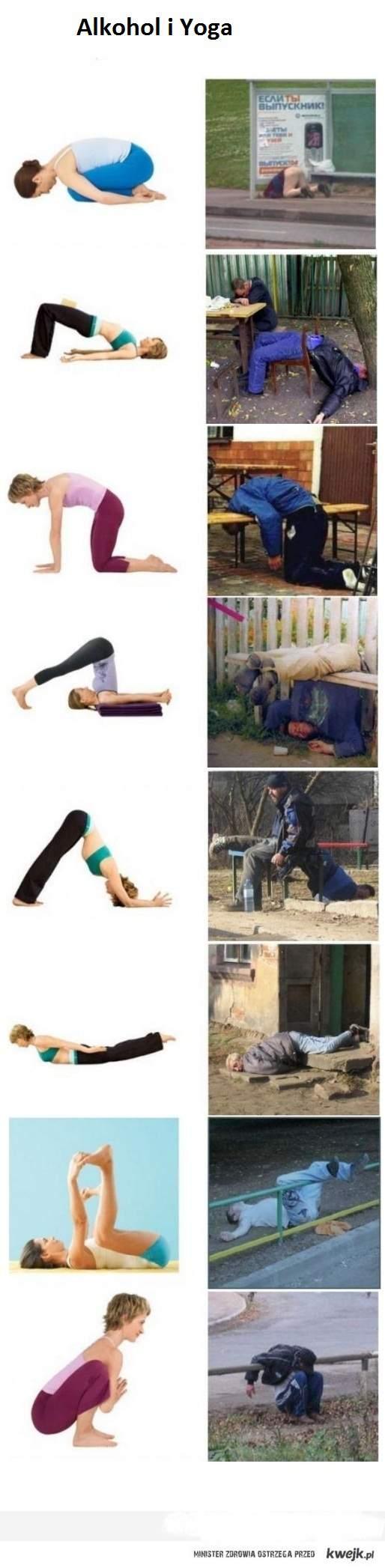 Alkohol i Yoga