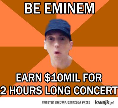 Ile zarabia Eminem?