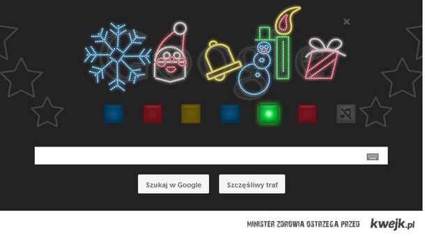 Grające świąteczne google