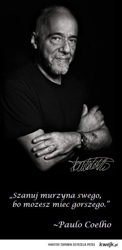 Paulo Coelho o murzynie.