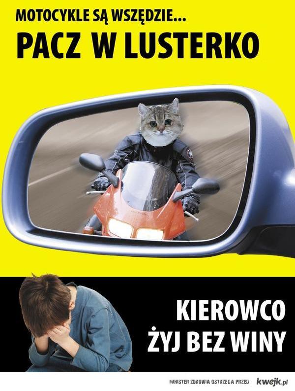 PACZ W LUSTERKO :)