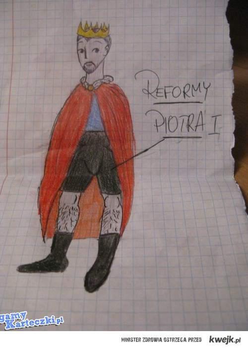 Reformy Piotra I