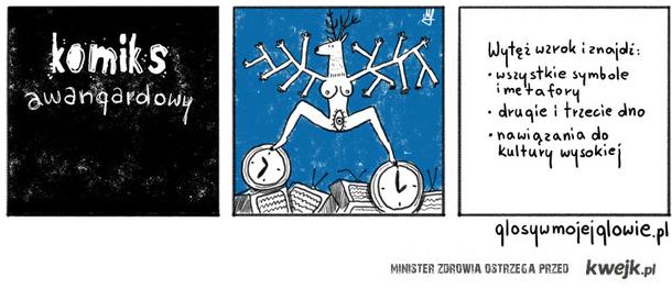 komiks awangardowy